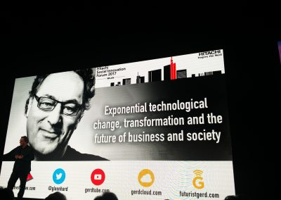 GERD LEONHARD, CEO di The futures Agency