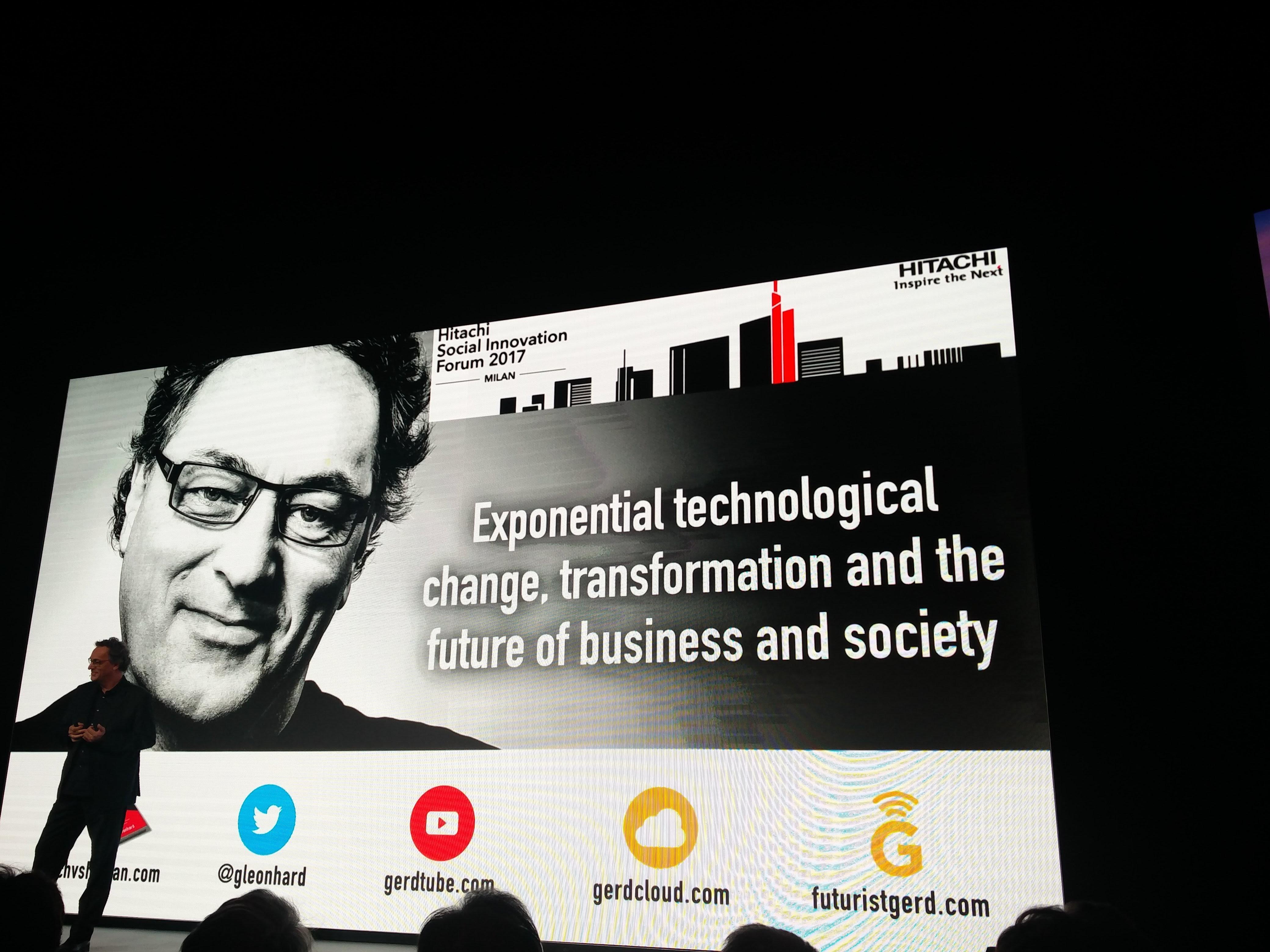 GERD LEONHARD, CEO di The futures Agency