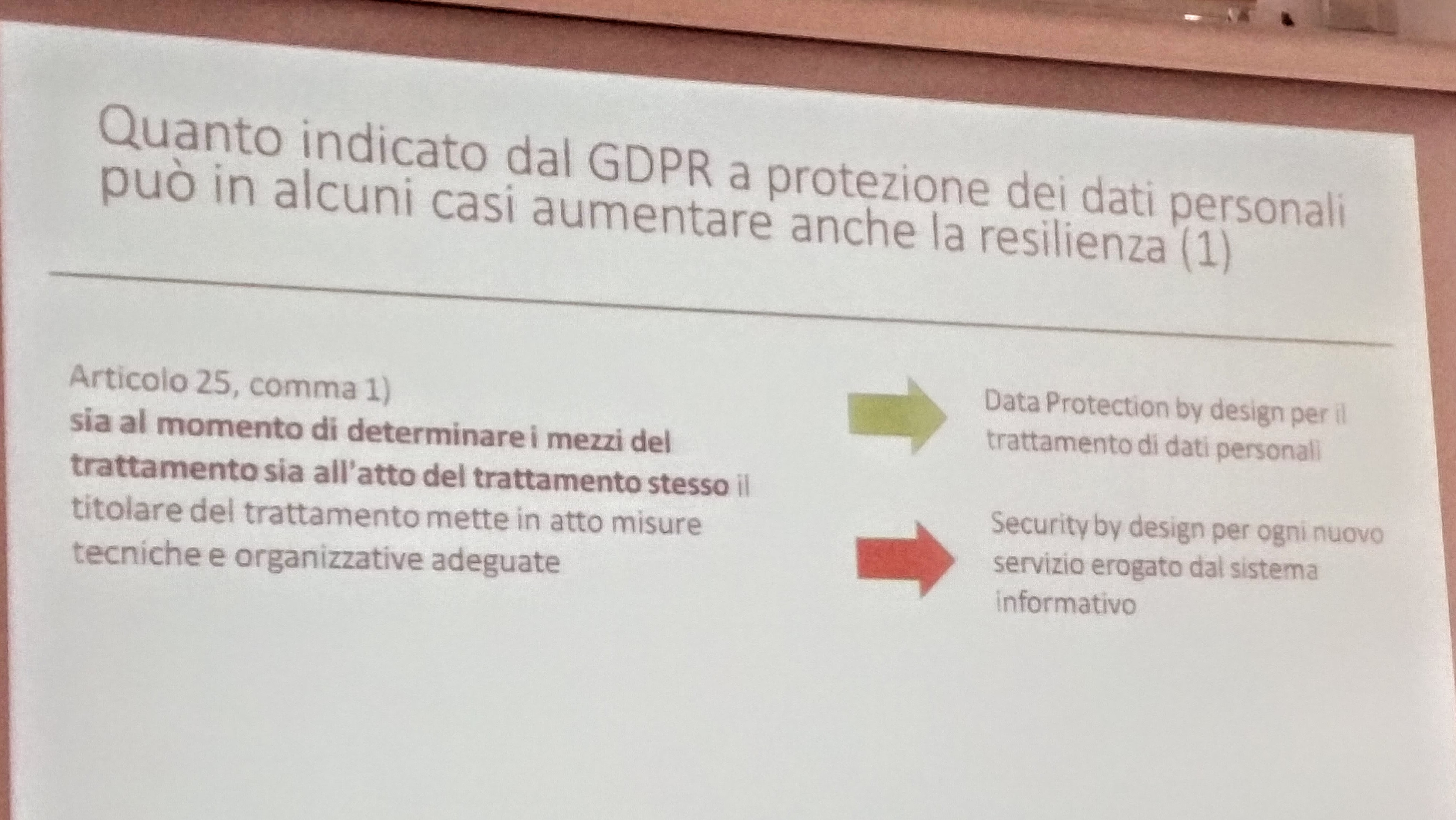"""il """"security by design"""""""