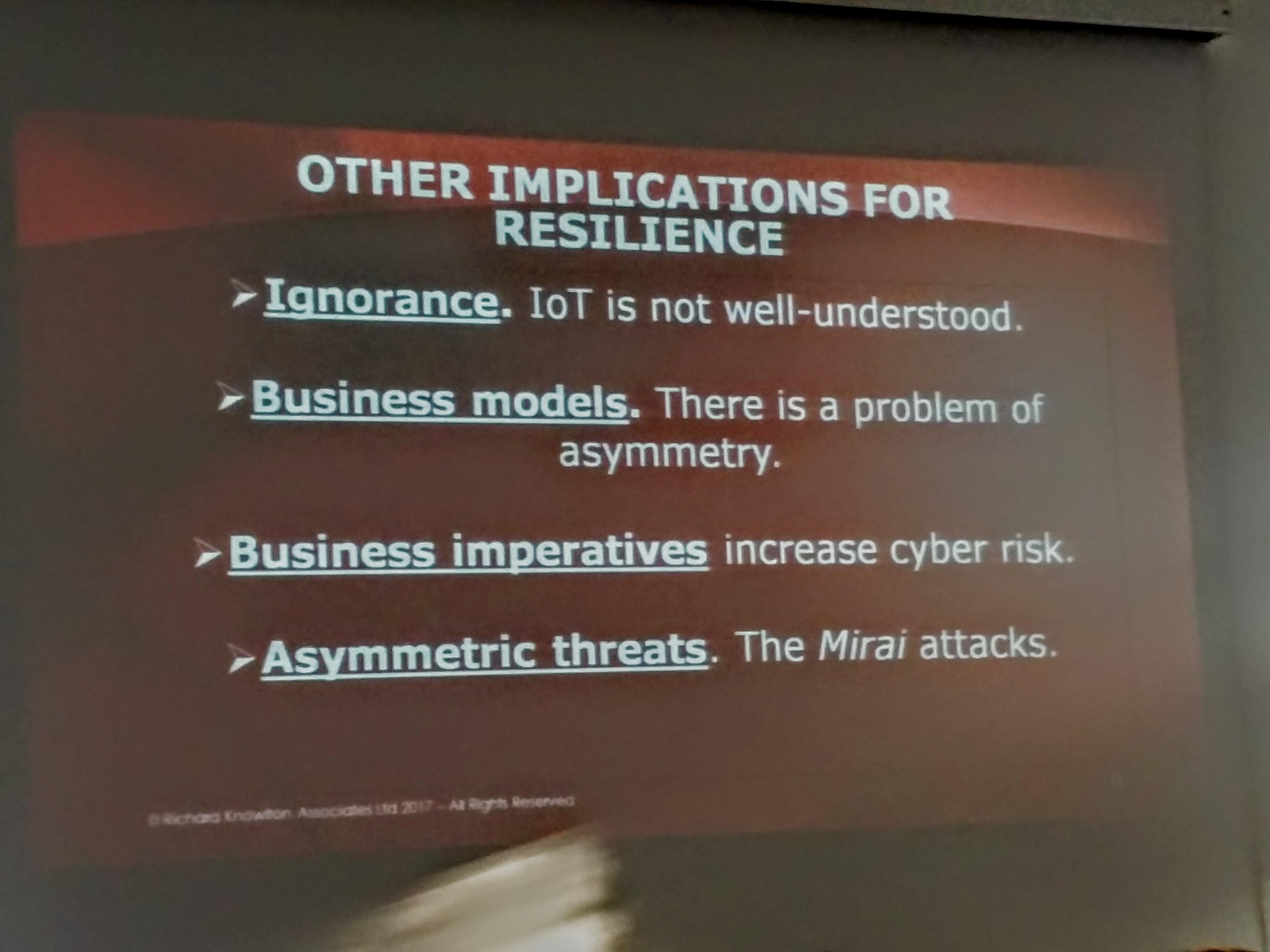 """RICHARD KNOWLTON per RK Associates """"la sicurezza non è la priorità del business"""""""
