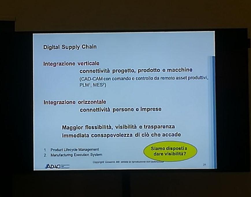 Era 4.0 per una integrazione olistica anche in ambito supply chain