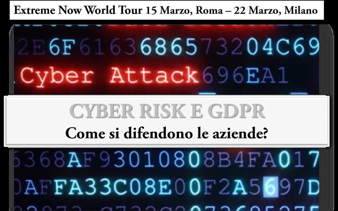 CYBER RISK E GDPR: ve lo raccontiamo all' Evento Extreme Networks
