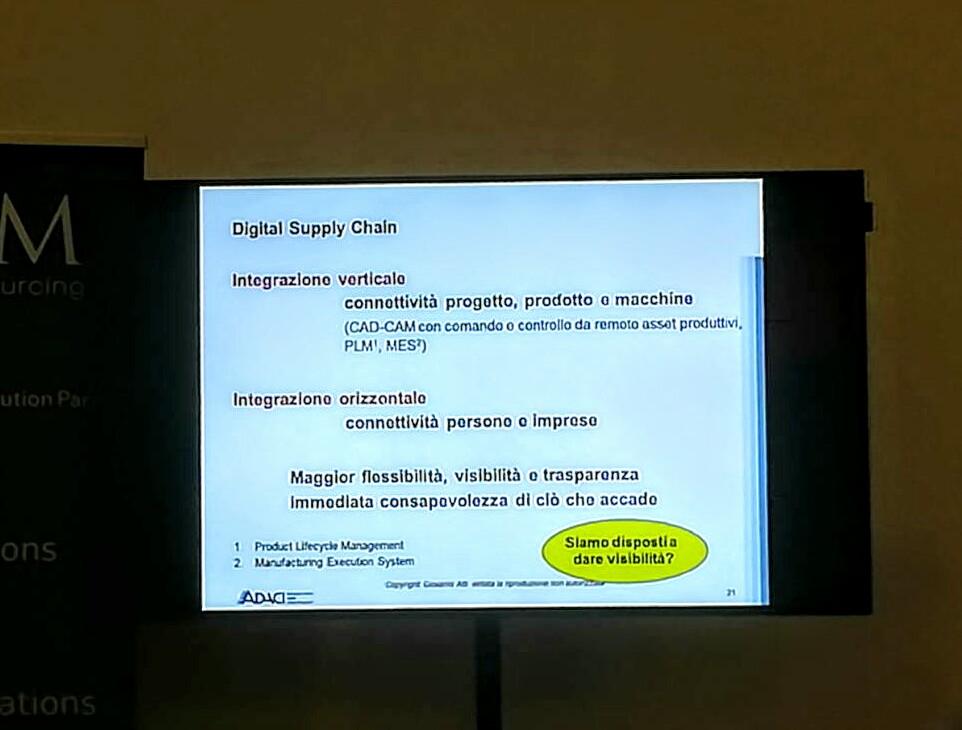 GIOVANNI ATTI per la Supply Chain digitale