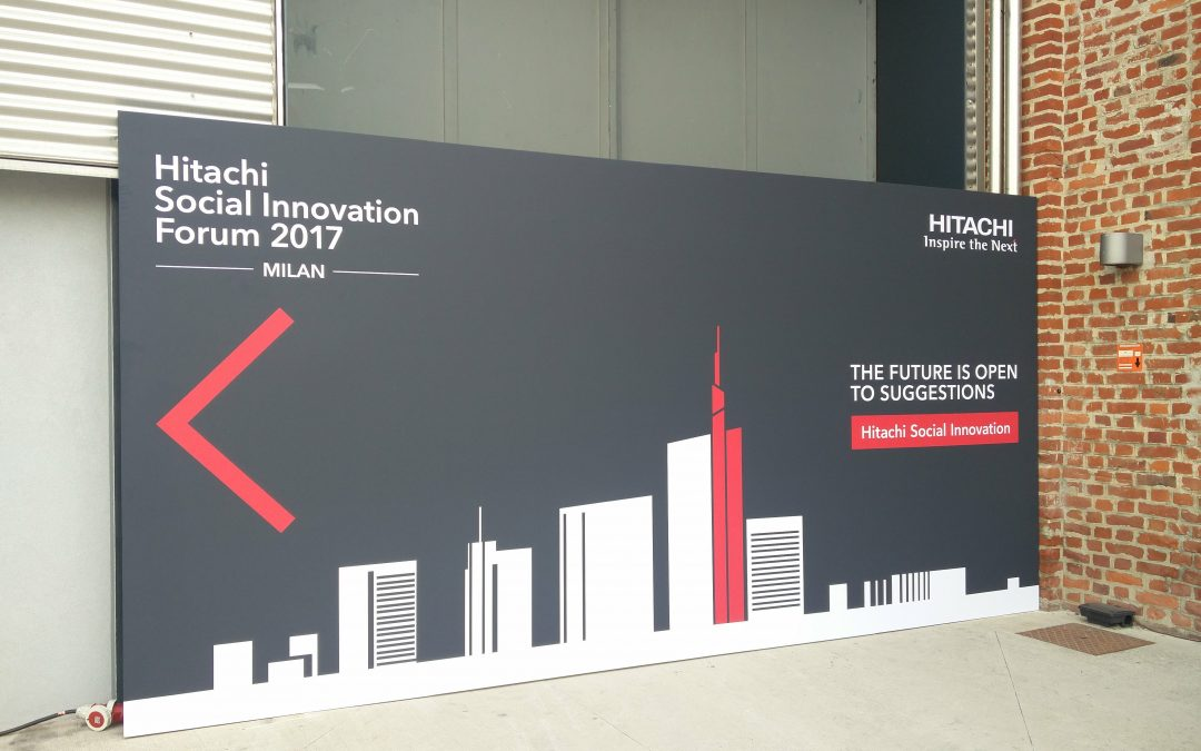 "gallery Evento HITACHI ""Social Innovation forum 2017"""