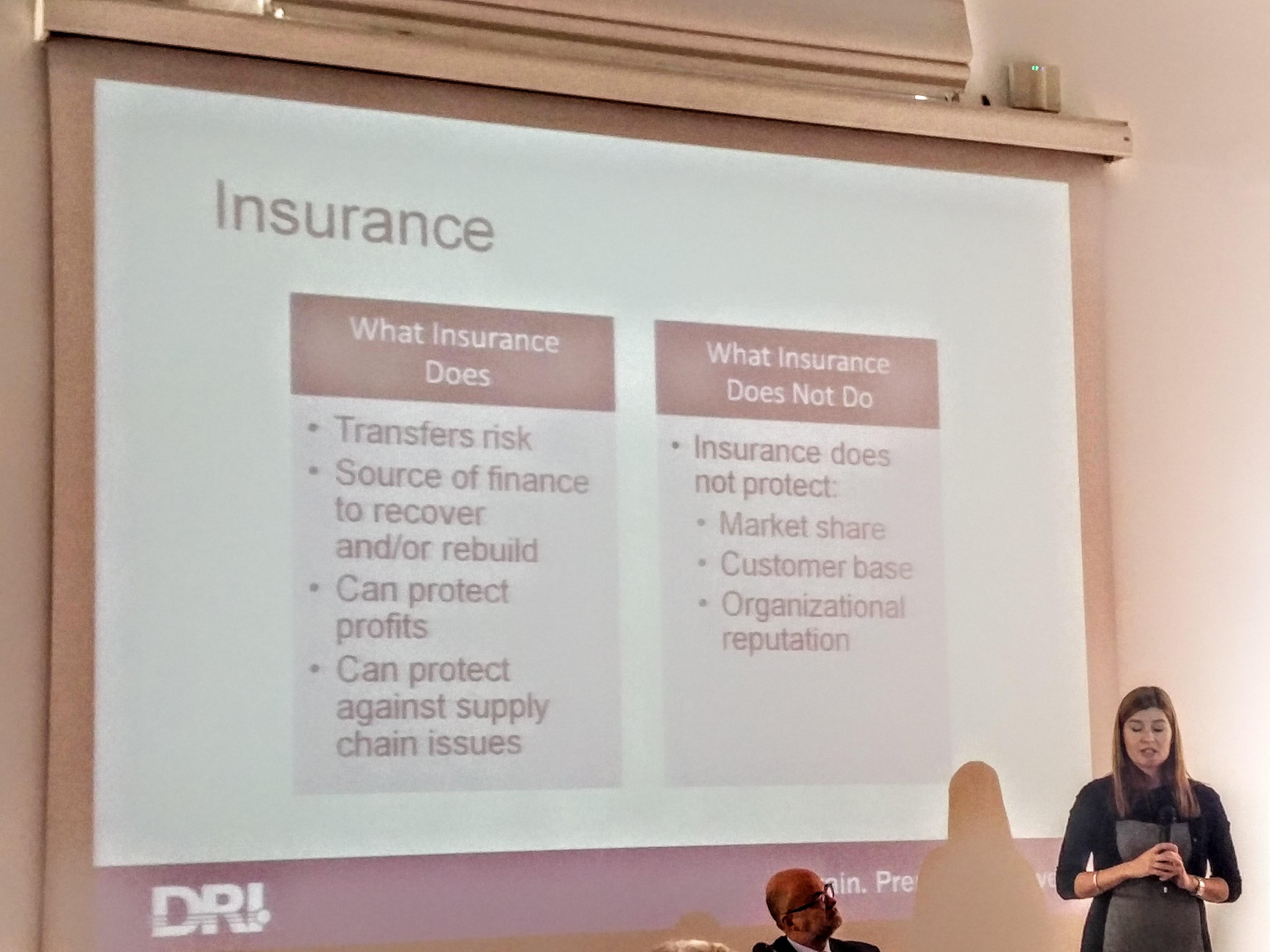 CHLOE DEMROVSKY CEO DRI International sui trend di rischio 2017 e le nuove prospettive per le assicurazioni