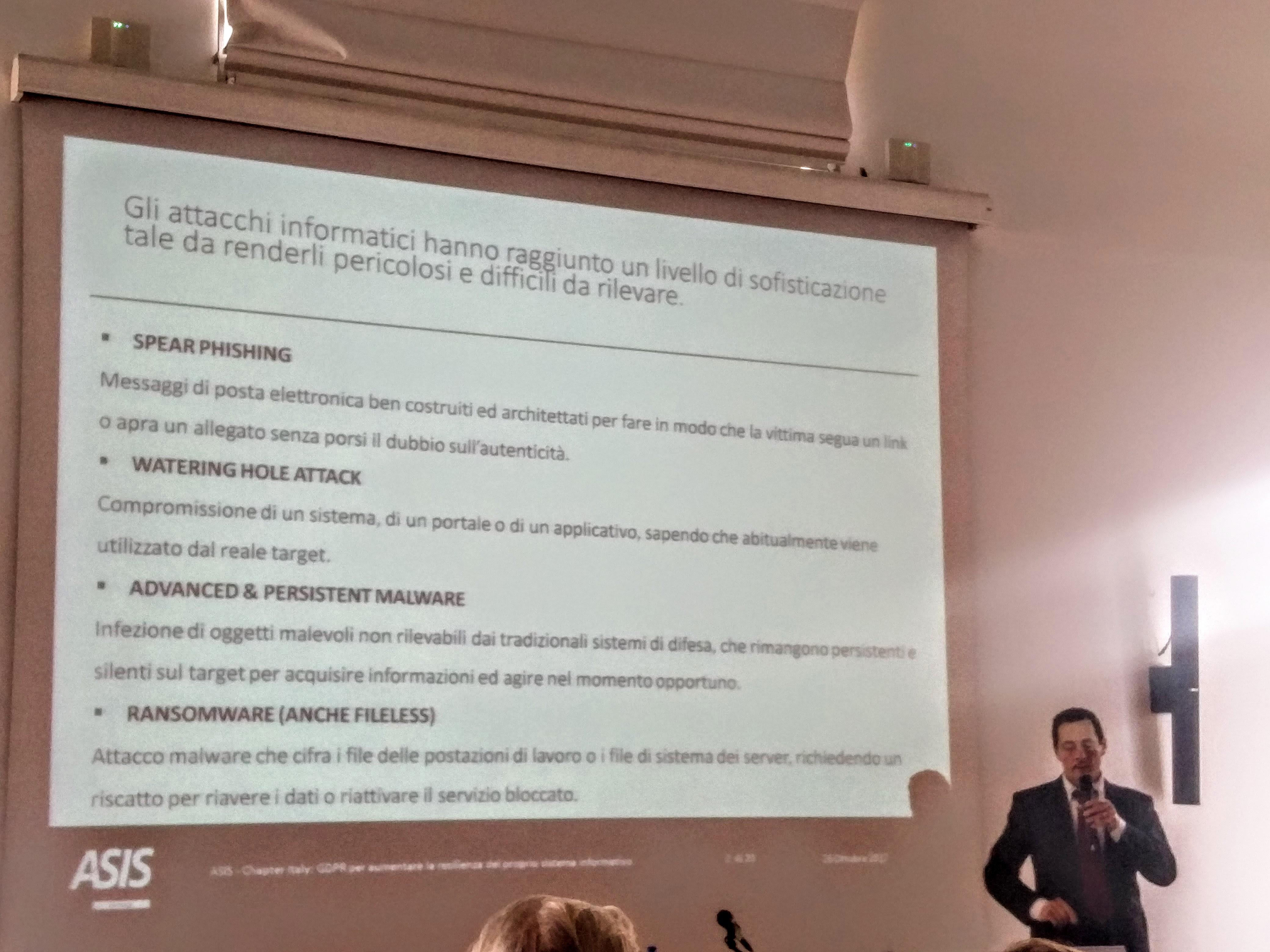 Gianluca Varduccio GDPR Nuovo Regolamento Europeo: come cambia l'approccio sistemico