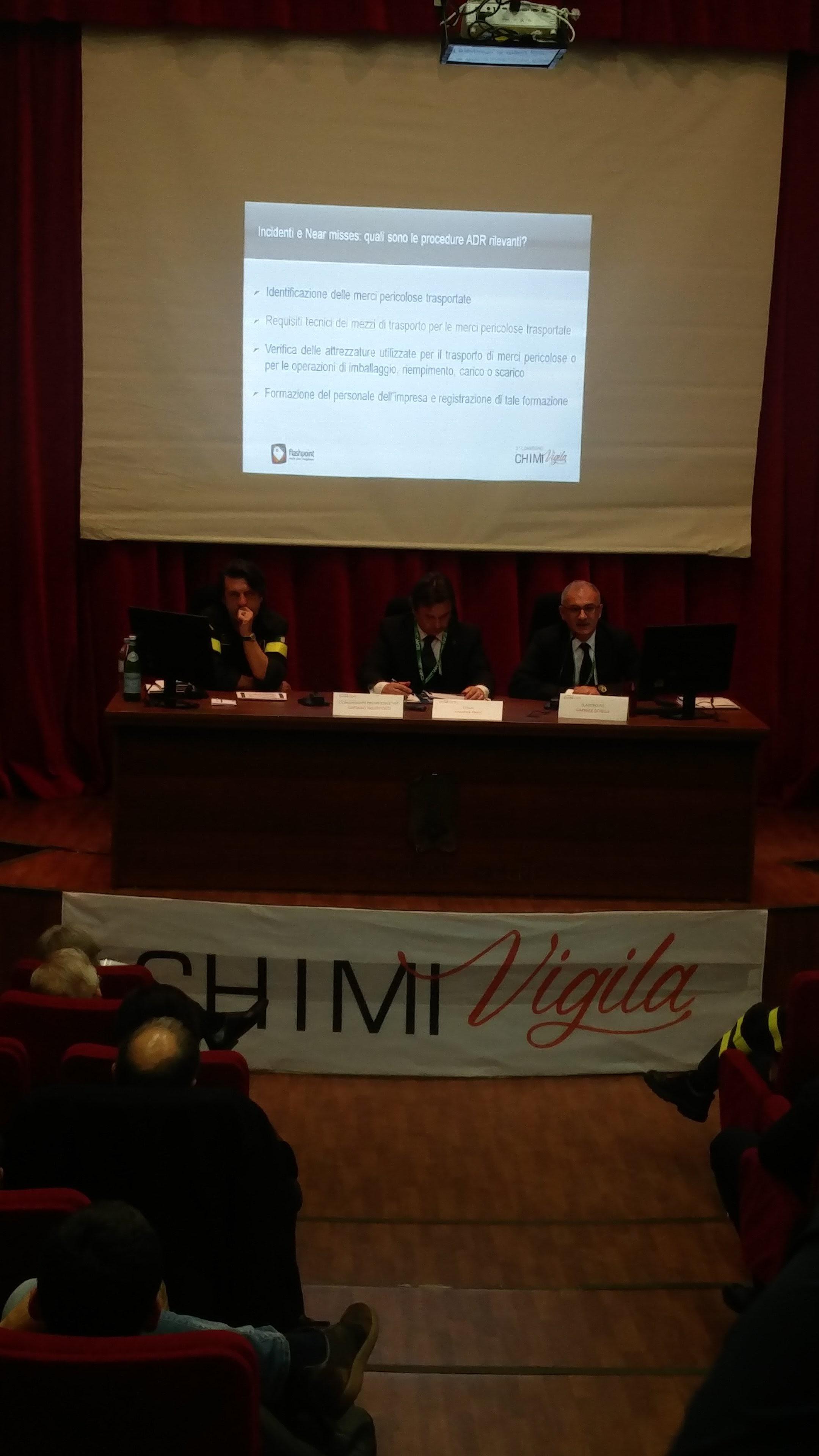 Gabriele Scibilia parla delle responsabilità penali dell'ADR e del Piano di Security