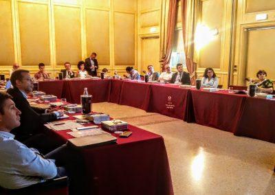 I partecipanti alla tavola rotonda RISK MANAGEMENT