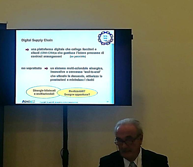GIOVANNI ATTI delegato internazionale ISPM presenta la Supply chain digitale