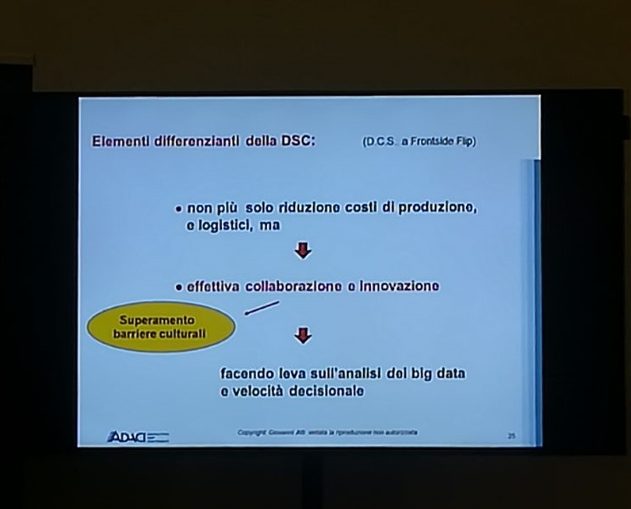 Gestione dei BIG DATA diventa strategica non solo ottimizzare processi decisionali ma per stabilire rapporti di partnership strategici