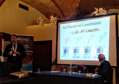 Teoria dei vincoli presentata da Brunello Menicucci