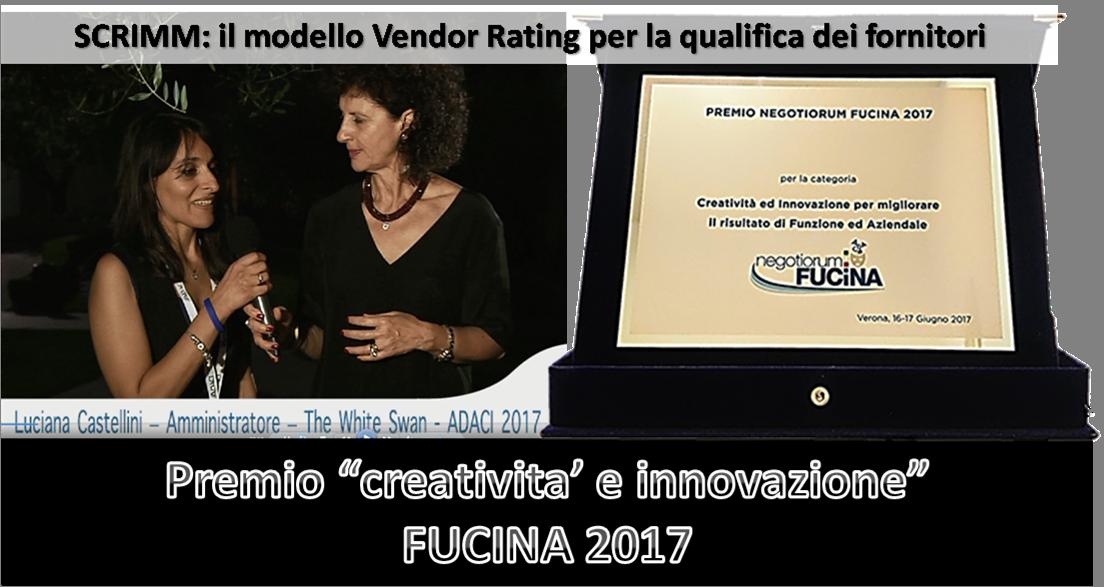 Gestione dei fornitori Fucina 2017